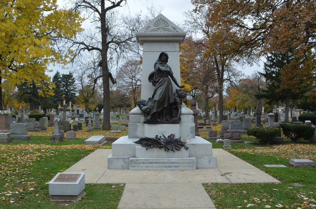 Image result for haymarket martyrs' monument