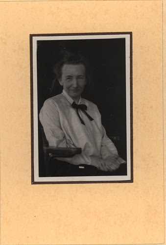 Portrait of Tatiana Ehrenfest, Mathematician