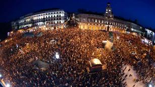 Ver vídeo  'Las protestas contra los recortes toman las ciudades españolas'