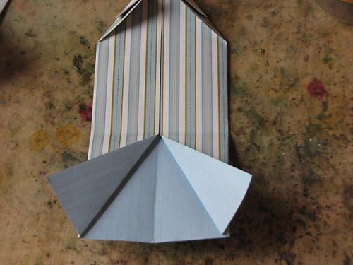 Origami Shirt Card & Tie 010