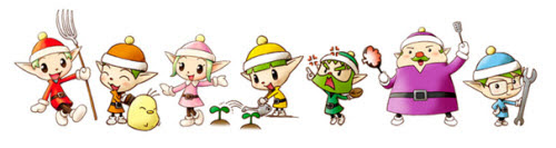 Harvest Moon Friends of Mineral Town คนแคระ