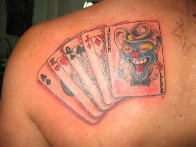 King Card Tattoos   Card Pictures
