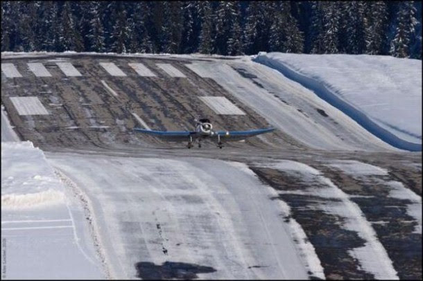 8. Courchevel Airport, França