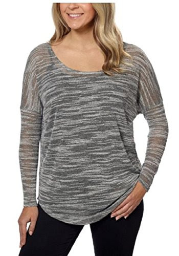 Olive & Oak Ladies Dolman Tunic, Black/White, Large