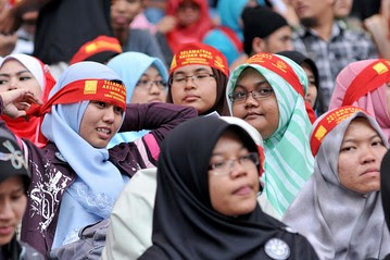 Malay Muslim Rally Fizzles  Indonesia Real Time  WSJ