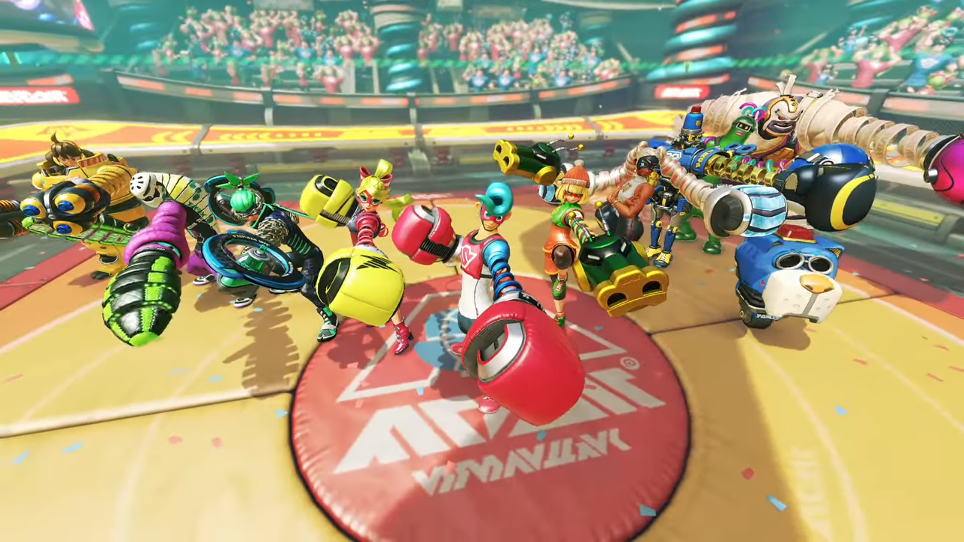 Nintendo is hosting 'Global Testpunch' events for Arms screenshot