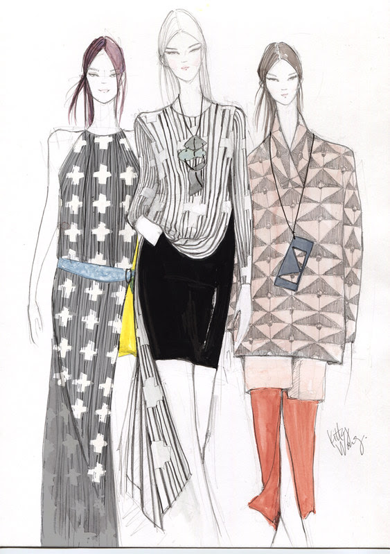 Sketches | Jeremy Laing NYFW 2013