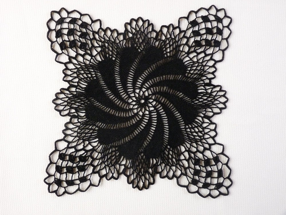 Popular items for black lace decor on Etsy
