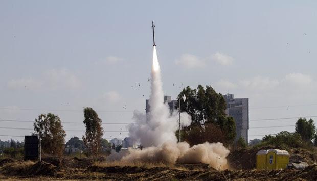 Begini Kerja Sistem Pertahanan 'Iron Dome' Israel
