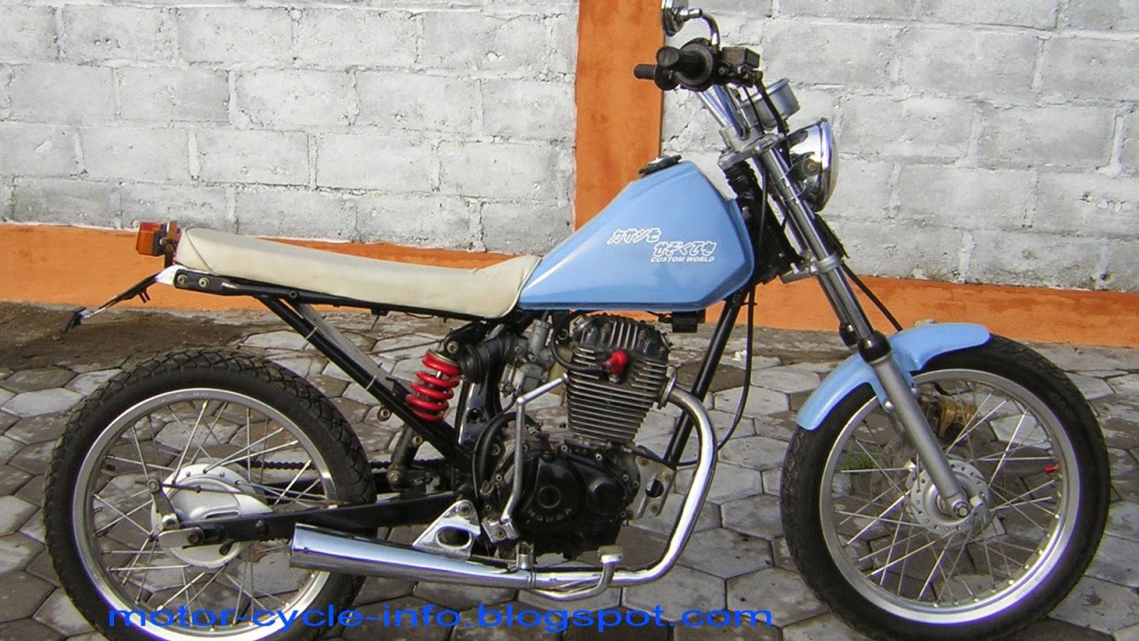Modif Motor Jadi Harley Otomania Update