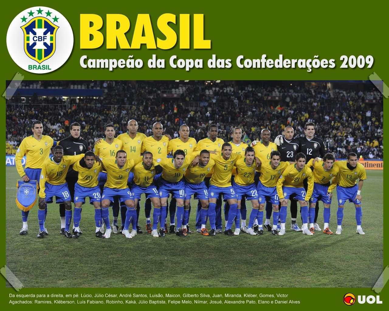 Brasil Campeão - Copa das Confederações 2009