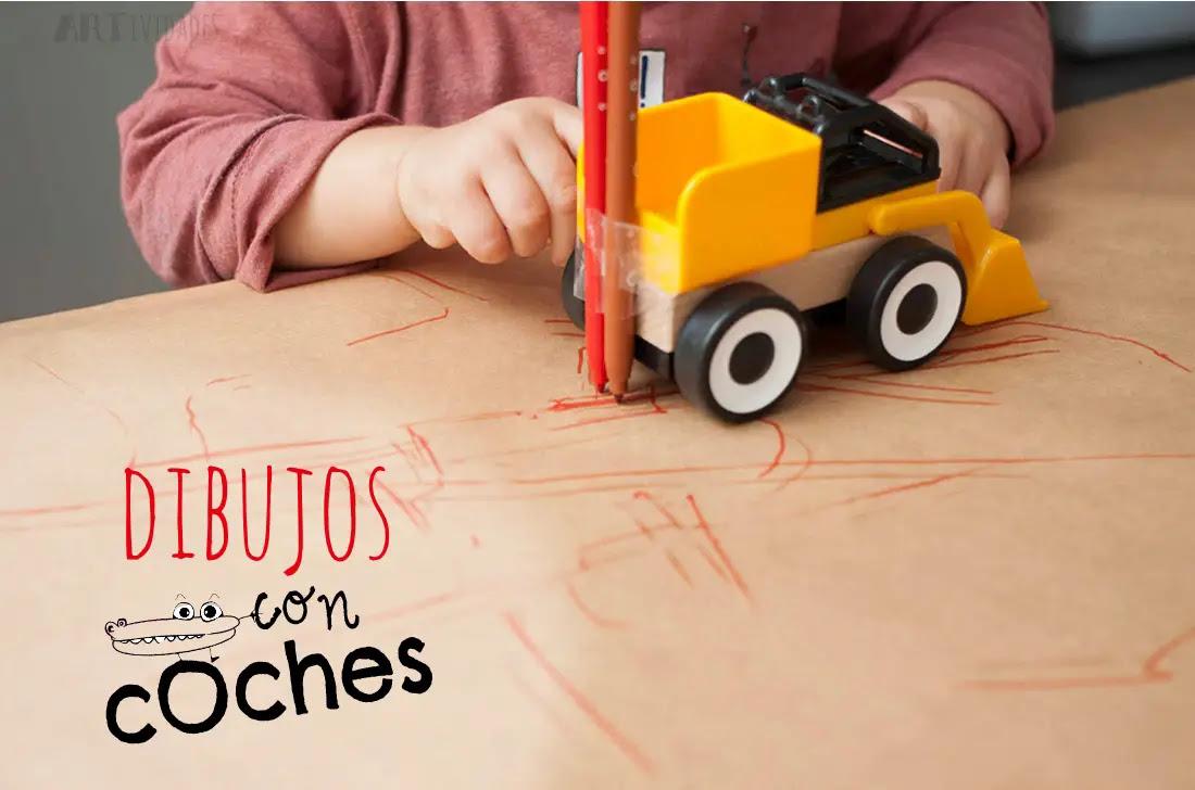 Actividad De Dibujo Con Coches Actividades Para Niños