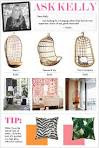 Kelly Market: ASK KELLY: HANGING RATTAN CHAIRS