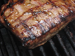 Grill marks
