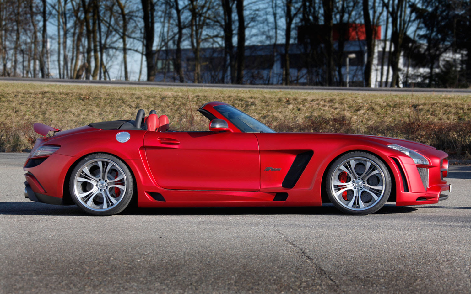 Fab Design Takes Mercedes-Benz SLS AMG Roadster Over the Top