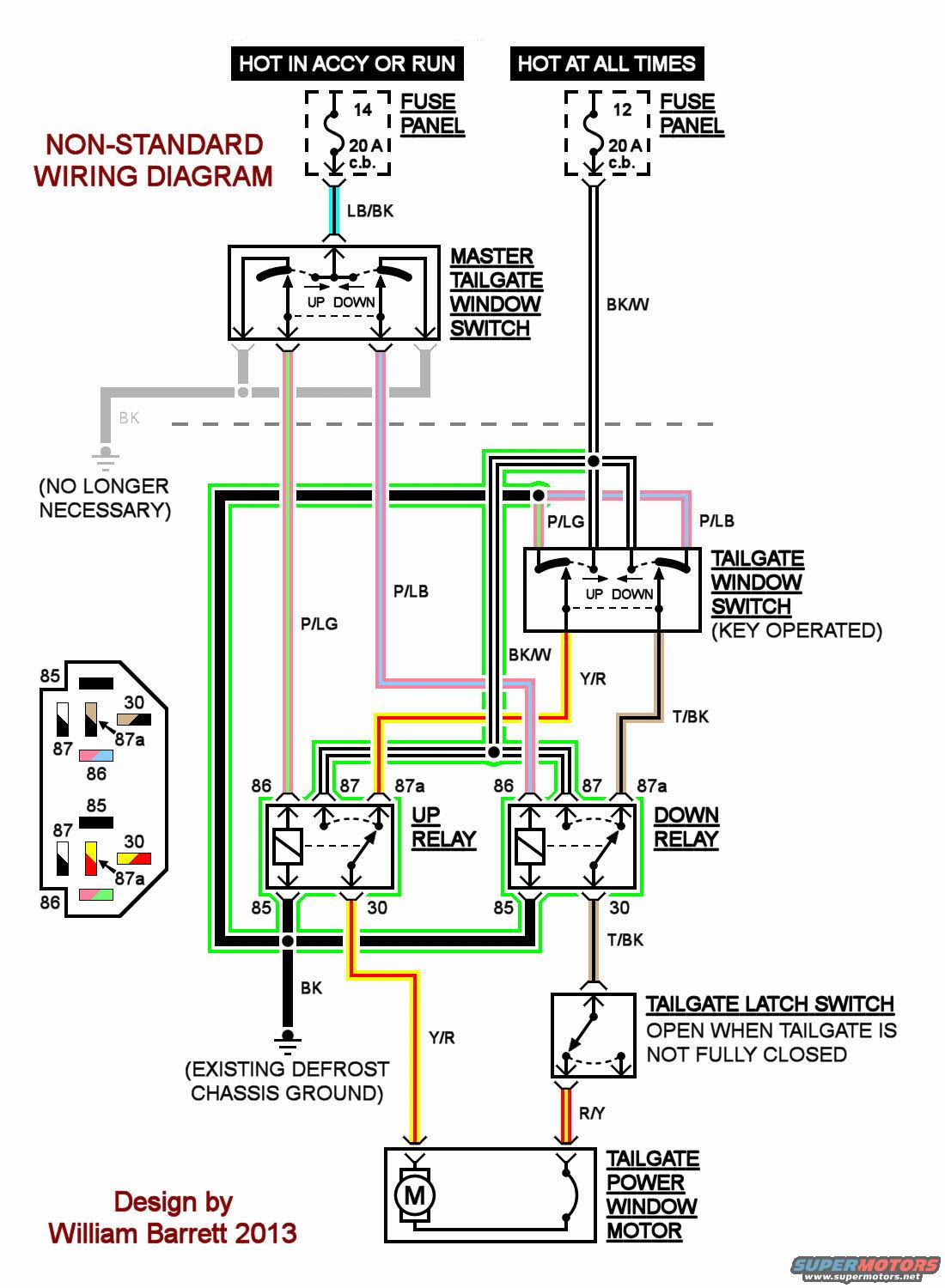 85 F350 Wiring Diagram