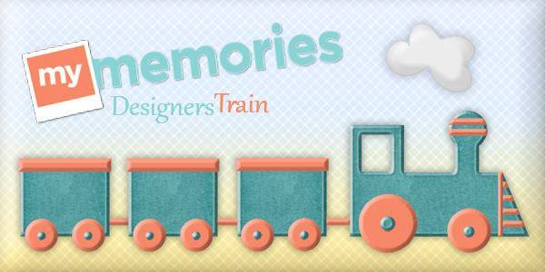 My Memories Blog Train