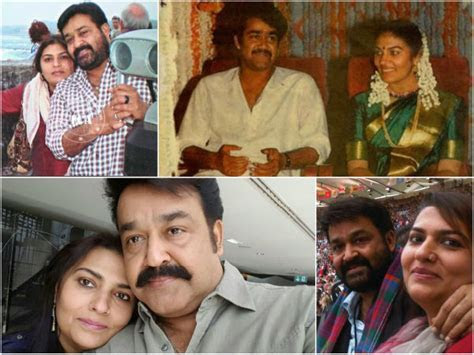 Mohanlal Suchitra   Mohanlal Suchitra Wedding Anniversary