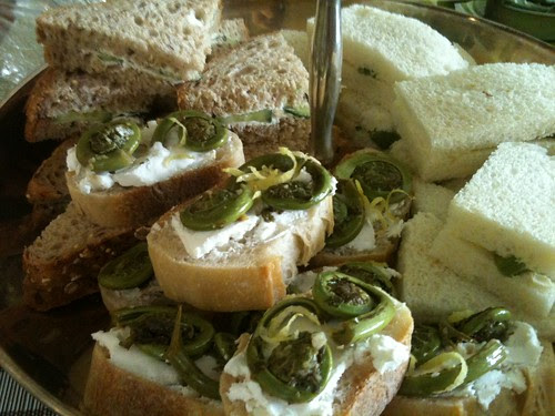 Spring Tea Sandwiches