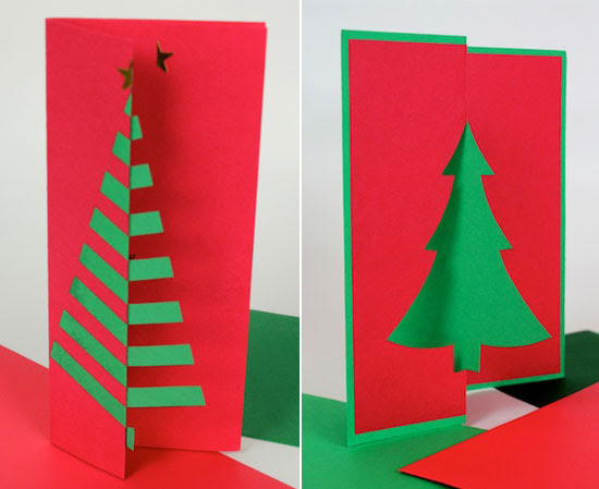 Easy Christmas Cards Designs.Christmas Card Handmade Ideas Decorating Ideas