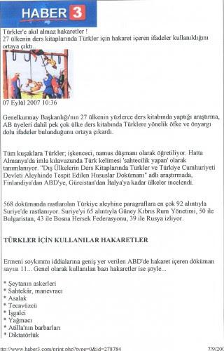 Τουρκική αναφορά