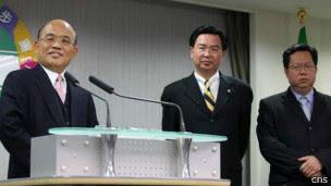 民进党举行中国事务委员会会议。