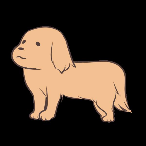 大型犬のイラスト かわいいフリー素材が無料のイラストレイン