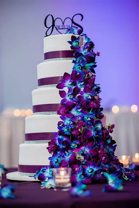 Wedding ideas by colour: Blue and purple wedding theme