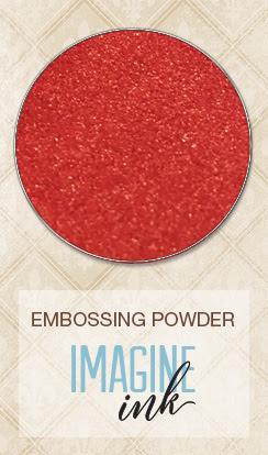 Embossing Powder - Poinsettia