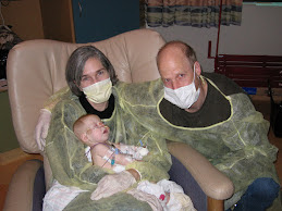 Sam in the hospital with Mom and Dad- Jan 2007