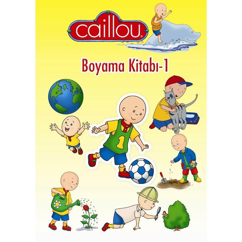 Caillou Boyama Kitabı 1