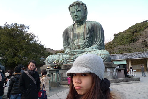 Kelly and the Great Buddha