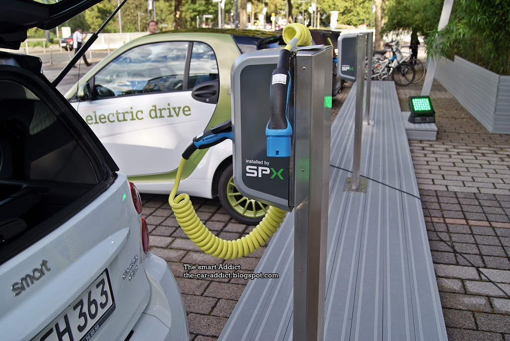 smart eD (electric drive) Test Drive in Frankfurt