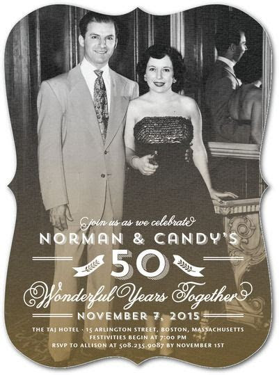 50th Wedding Anniversary Ideas For Throwing a Memorable