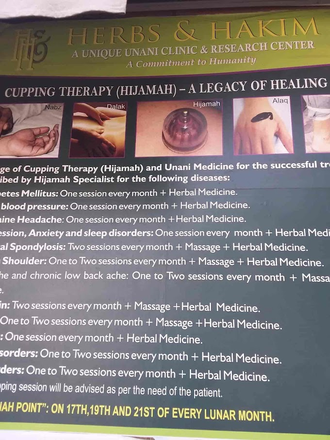 Hijama Cupping Therapy For Hair In Pune