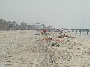 English: dubai Jumeirah beach park
