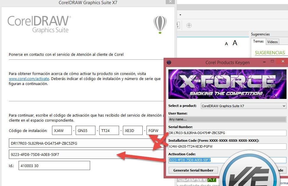 Corel Draw X7 Keygen Serial Number Activation Code Deludug