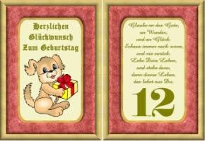 Glückwünsche Zum Geburtstag Für Mädchen 12 Jahre Hylen Maddawards Com