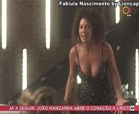 Fabiula Nasciemnto sensual na novela Segundo Sol