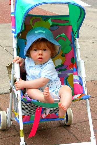 the stroller kid