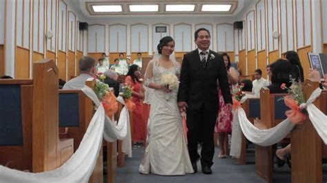 Elaine & Rolly Wedding Ceremony at Church of Christ   YouTube