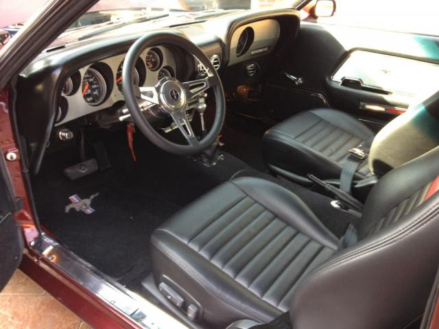 picture of 1969 ford mustang mach 1 interior