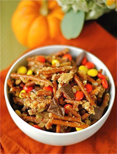Better Than Bleep: Halloween Candy Snack Mix