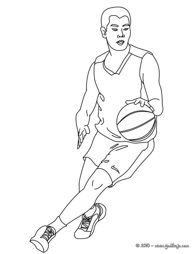 Dibujos De Baloncesto Para Colorear 34 Dibujos Para Colorear Los