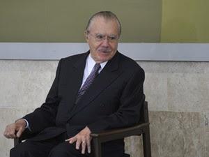 O presidente do Senado, José Sarney (PMDB-AP) (Foto: Antônio Cruz/ABr)