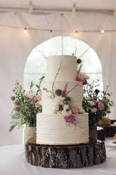 Rustic Michigan Backyard Wedding   Wedding Cakes   Wedding
