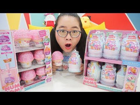 Num Noms Lọ Trang Điểm Bí Ẩn vs Hộp Kem Ngọt Ngào | Mystery Makeup - Ice Cream