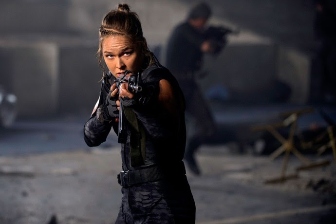 UFC Ronda Rousey mercenários 3 (Foto: Agência AP)