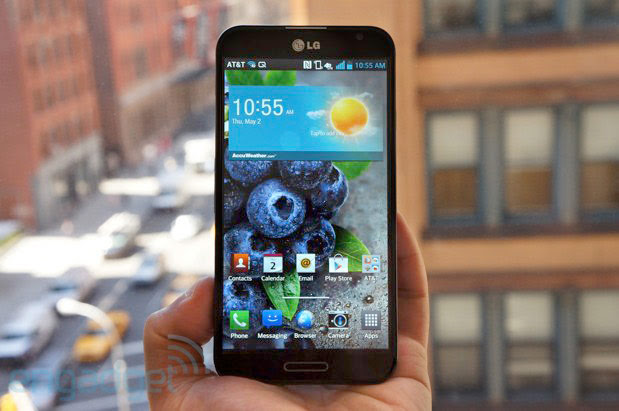 LGs Optimus G Pro launching across Asia in June