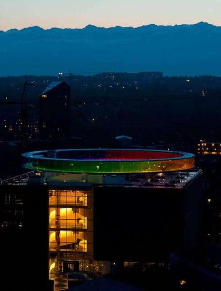 Rainbow Walkway Denmark